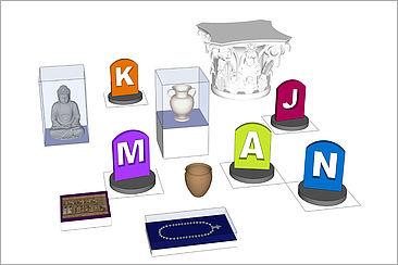 Simulation antiker Gegenstände